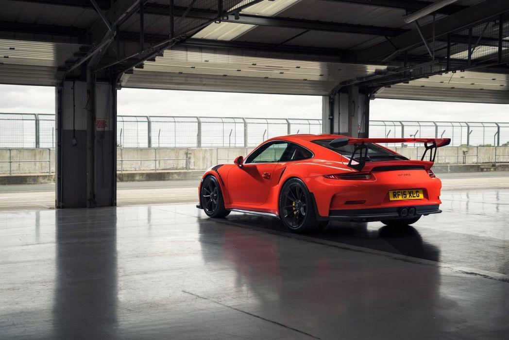 Porsche 911 GT3 RS UK-spec (991) cars coupe 2015 wallpaper