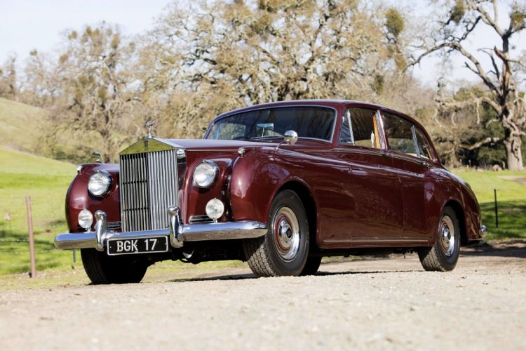 Rolls Royce Silver Cloud EWB cars classic 1955 1959 wallpaper