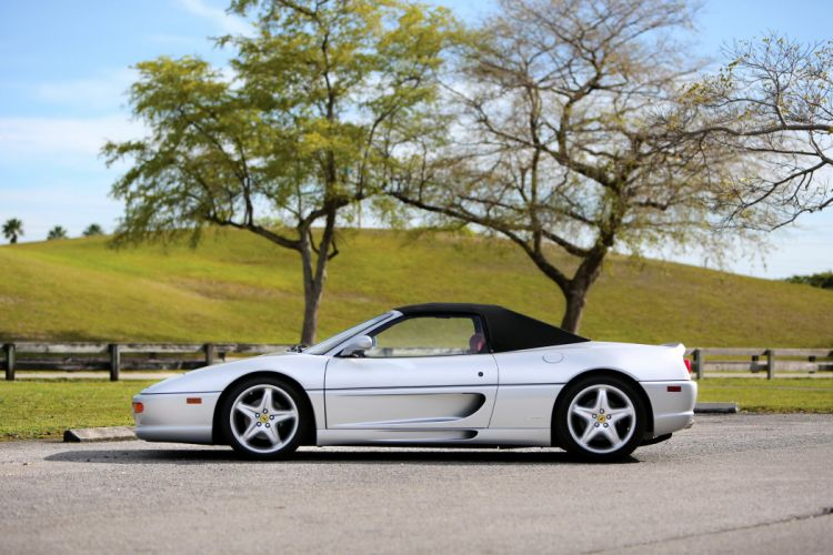 Ferrari F355 Spider US-spec cars 1995 1999 wallpaper