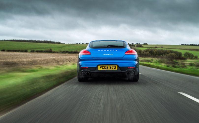 Porsche Panamera S E-Hybrid UK-spec 2013 US-spec cars wallpaper