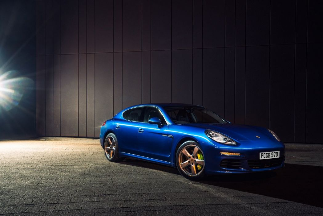 Porsche Panamera S E-Hybrid UK-spec 2013 US-spec cars  wallpaper