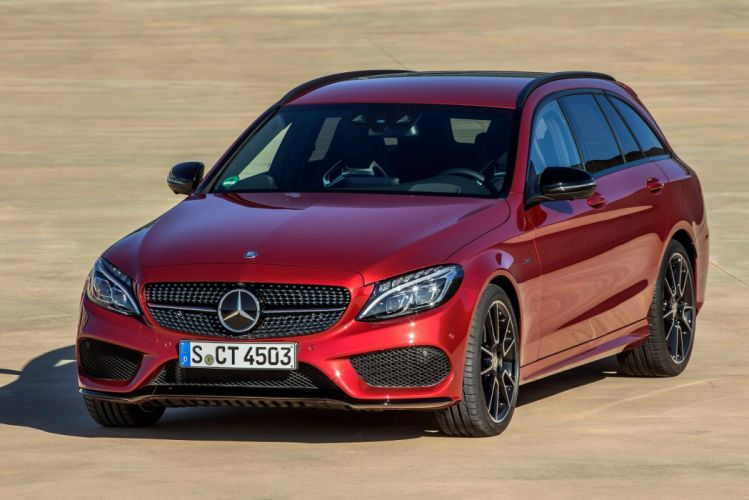 Mercedes Benz C 450 AMG Sport Estate (S205) wagon 2015 cars wallpaper