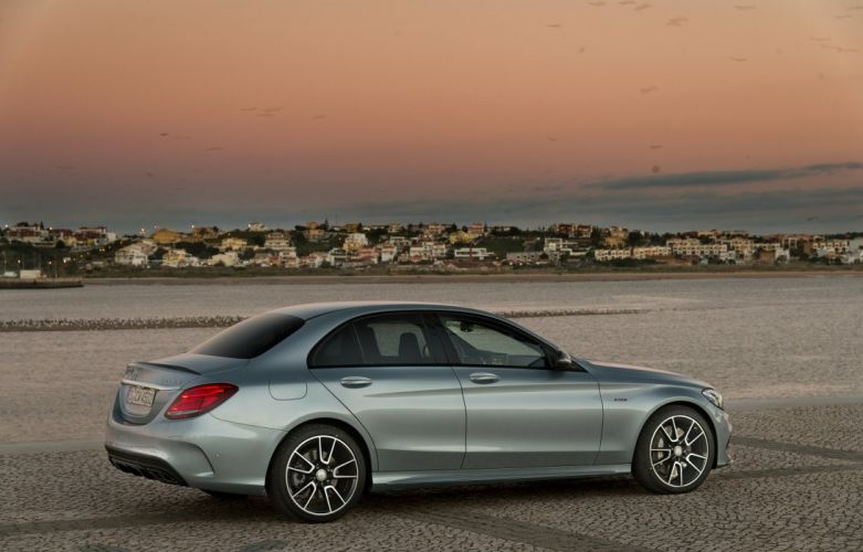 Mercedes Benz C 450 AMG Sport sedan (W205) cars 2015 wallpaper