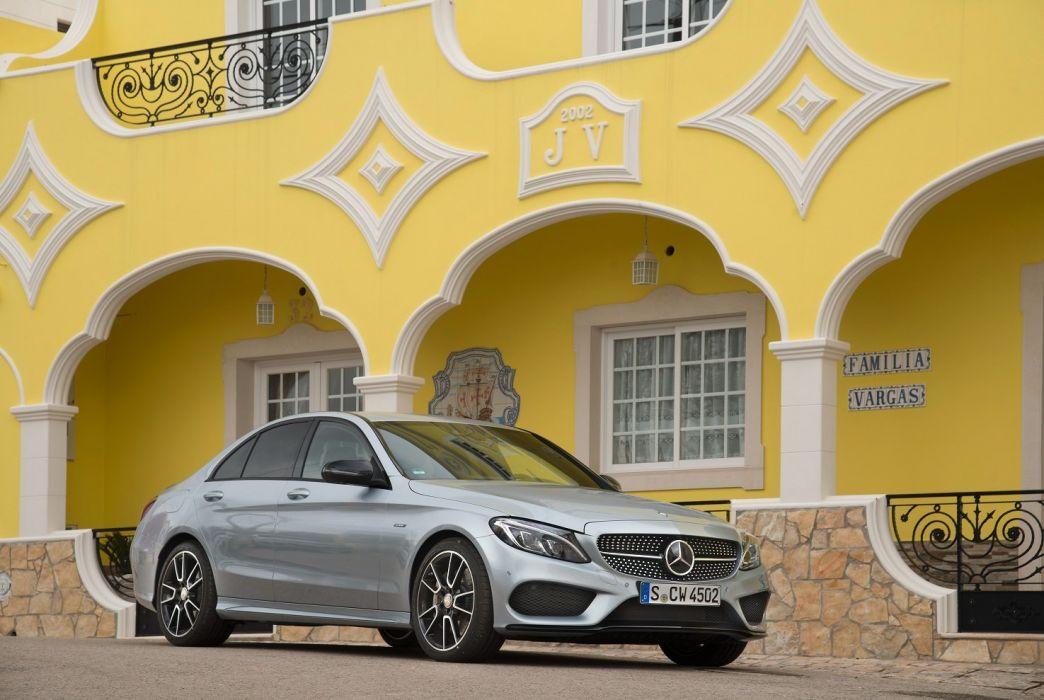 Mercedes Benz C 450 AMG Sport sedan (W205) cars 2015 wallpaper