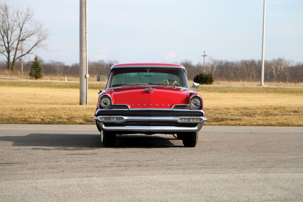 1956 Lincoln Premiere Hardtop Coupe classic cars wallpaper