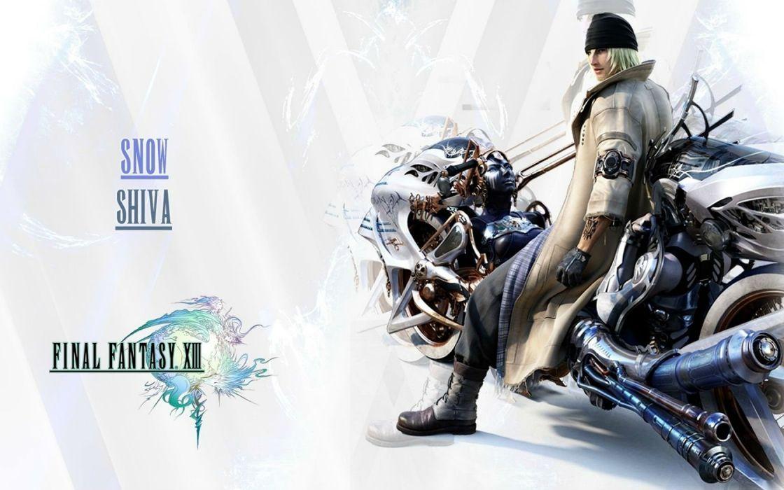 FINAL FANTASY action rpg fighting fantasy combat battle warrior perfect art artwork poster wallpaper