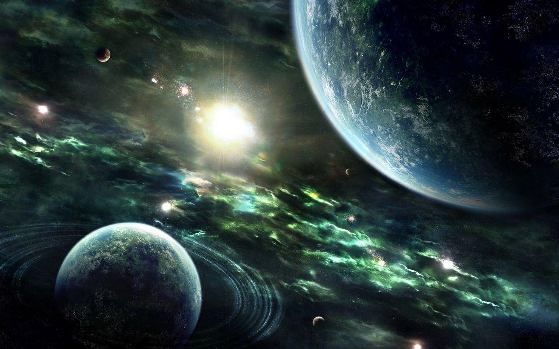 otros planetas universo espacio wallpaper