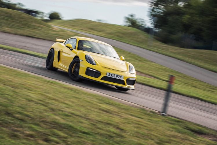 Porsche Cayman GT4 UK-spec (981DA) cars coupe 2015 wallpaper