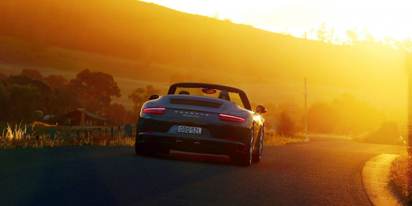 Porsche 911 Carrera Cabriolet AU-spec (991) cars 6 2015 wallpaper
