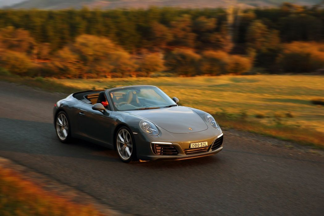 Porsche 911 Carrera Cabriolet AU-spec (991) cars 6 2015 wallpaper