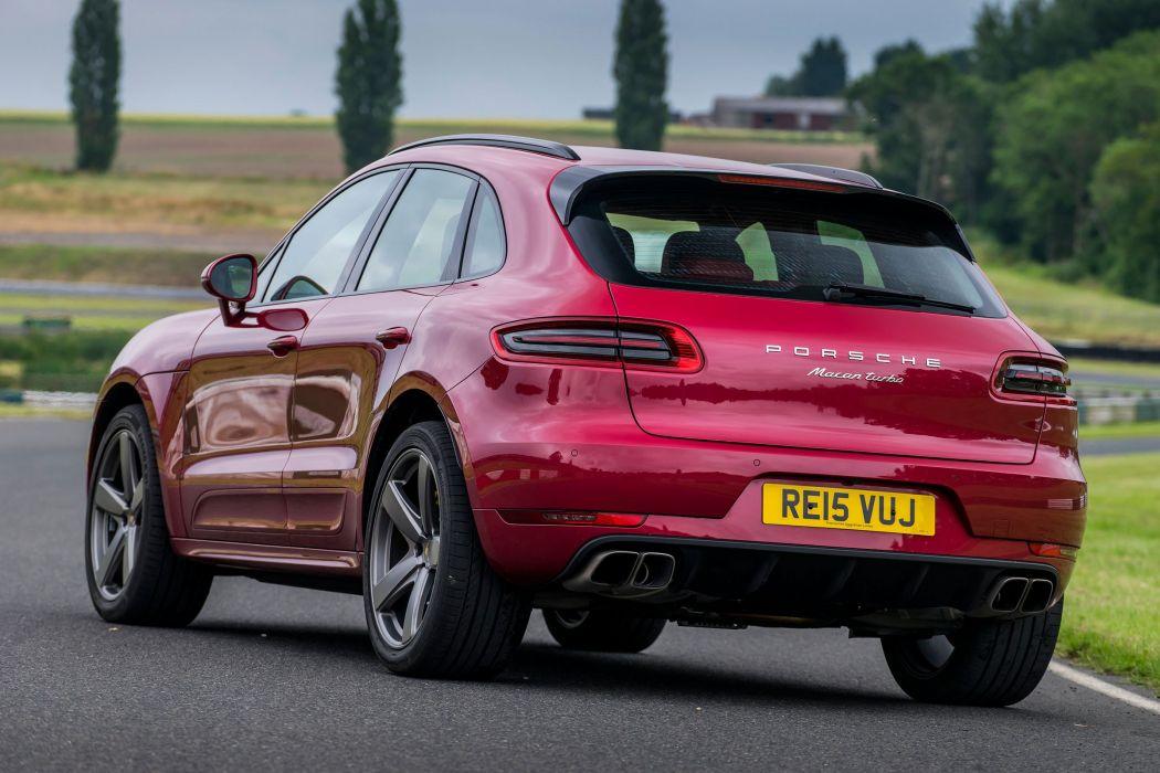 Porsche Macan Turbo UK-spec (95B) cars suv 2014 wallpaper
