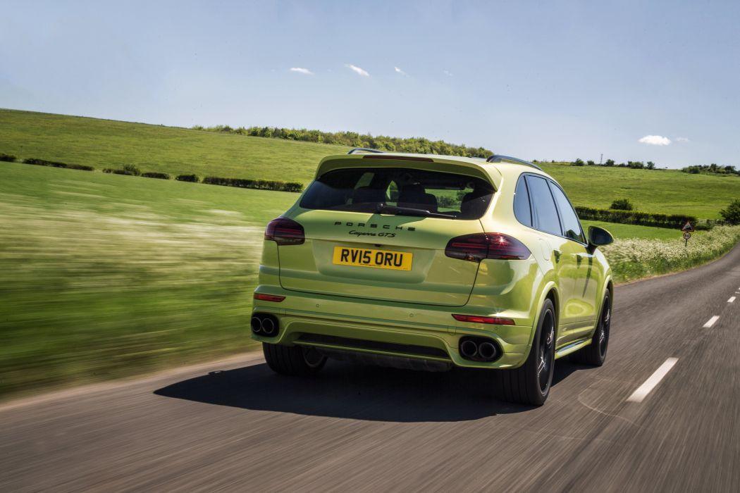 Porsche Cayenne GTS UK-spec (958) cars suv green 2014 wallpaper