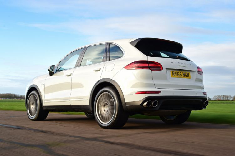 Porsche Cayenne S E-Hybrid UK-spec (958) cars suv white 2014 wallpaper