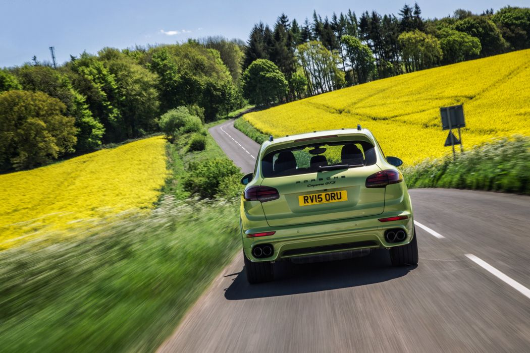 Porsche Cayenne GTS UK-spec (958) cars suv green 2014 wallpaper