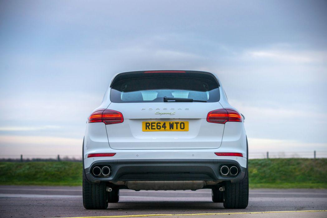 Porsche Cayenne S E-Hybrid UK-spec (958) cars suv white 2014 wallpaper