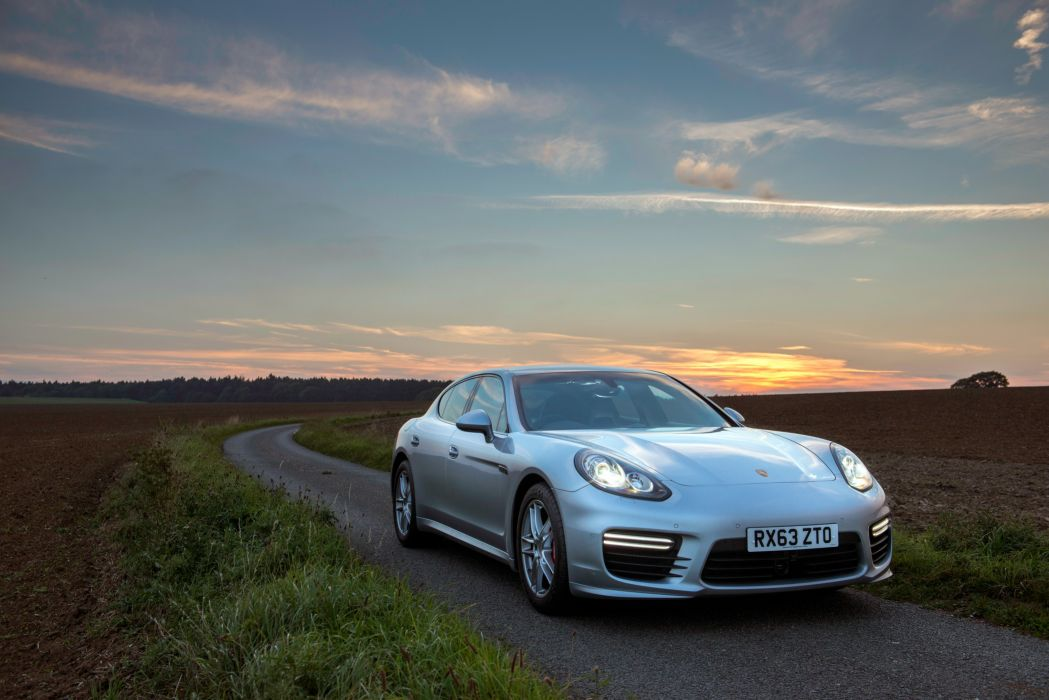 Porsche Panamera Turbo UK-spec (970) cars 2013 wallpaper