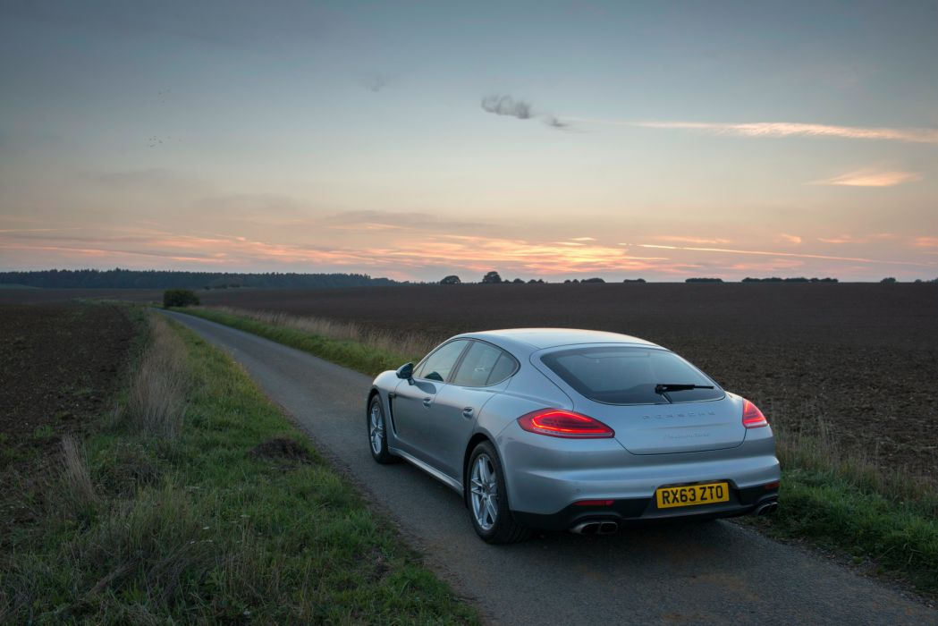 Porsche Panamera Turbo UK-spec (970) cars 2013 wallpaper