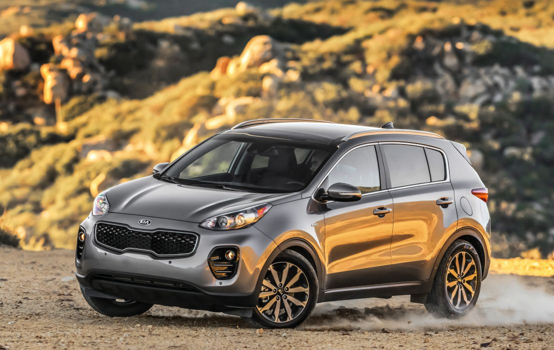 2017 Kia Sportage US-spec cars suv 2016 wallpaper