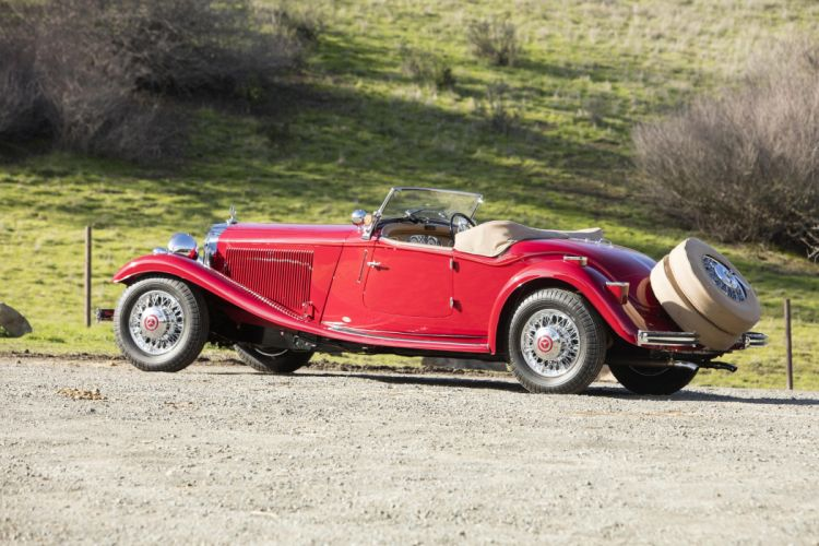 Mercedes Benz 500K Sport Roadster UK-spec cars classic 1935 1936 wallpaper