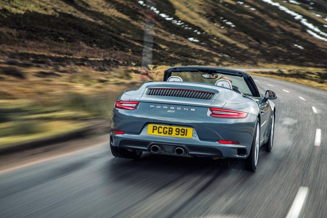 Porsche 911 Carrera S Cabriolet UK-spec (991)cars 2015 wallpaper