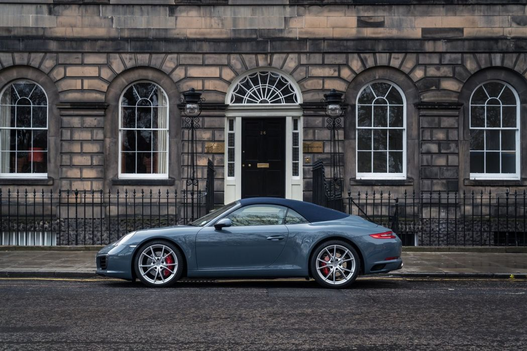 Porsche 911 Carrera S Cabriolet UK-spec (991)cars 2015 wallpaper