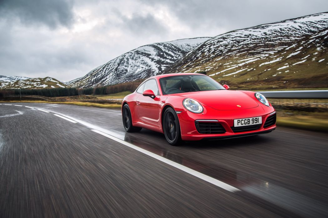 Porsche 911 Carrera Coupe UK-spec (991)cars 2015 wallpaper