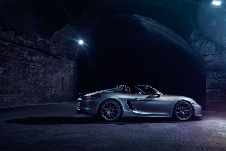 Porsche Boxster Spyder UK-spec (981) cars 2015 wallpaper