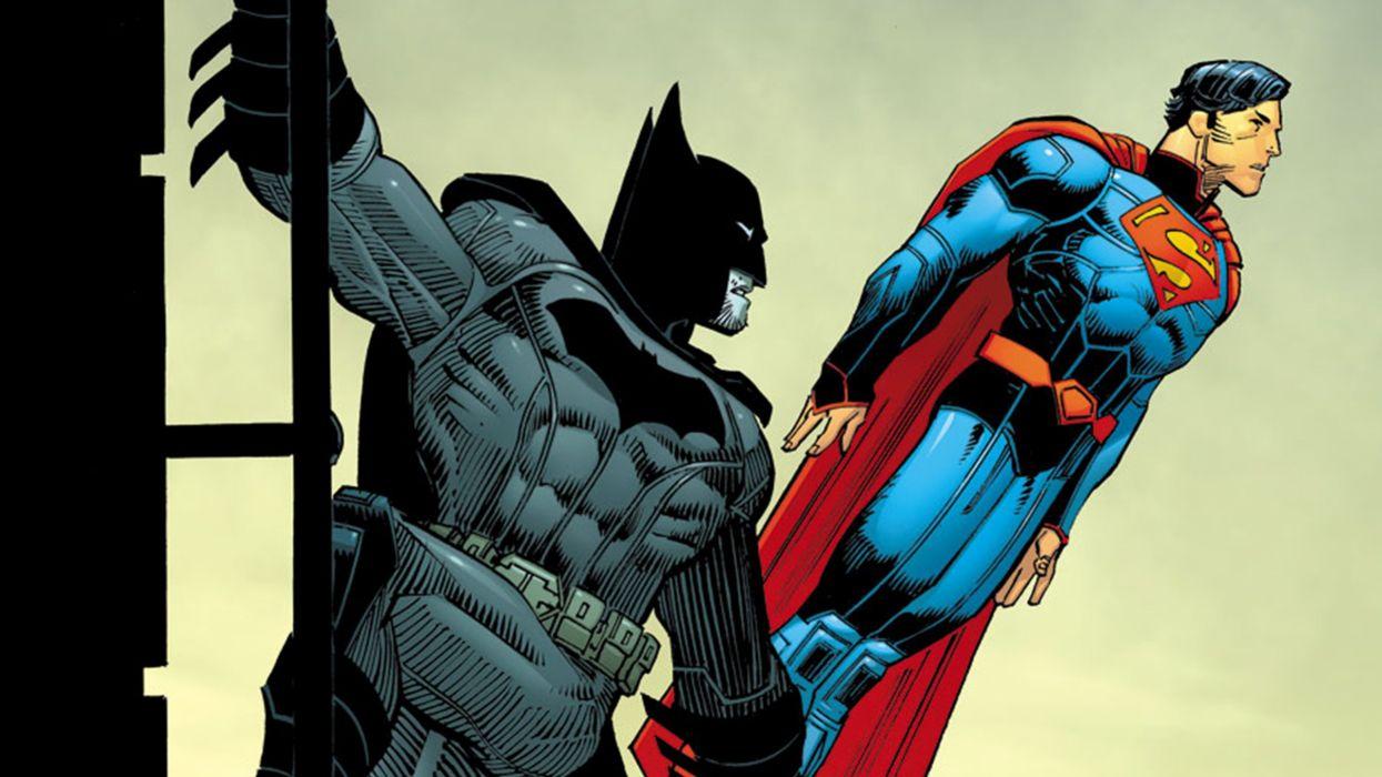 Batman and Superman wallpaper