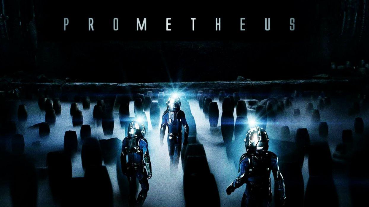 PROMETHEUS ALIEN COVENANT aliens sci-fi futuristic adventure poster wallpaper