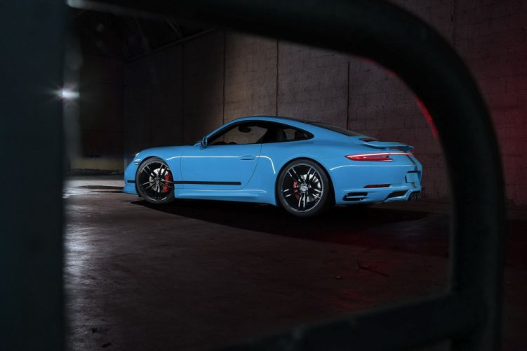 Techart porsche 911 Carrera cars modified 2016 wallpaper