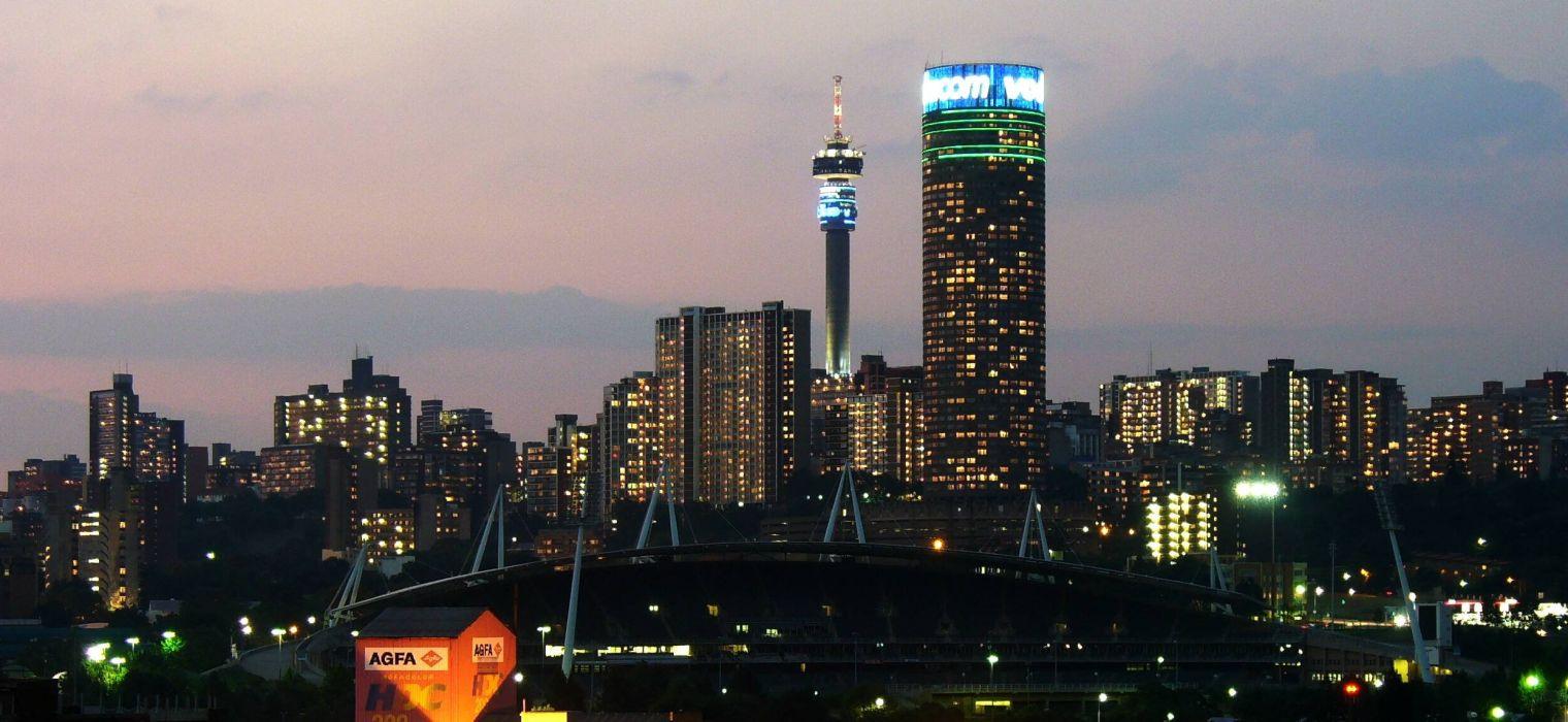 johannesburgo ciudad sudafrica africa adificios wallpaper
