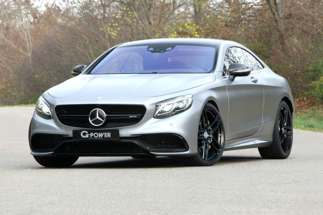 2016 G-POWER Mercedes AMG 63S Coupe cars modified wallpaper