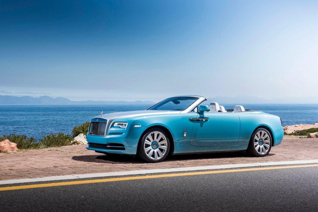Rolls Royce Dawn convertible luxury cars 2015 wallpaper