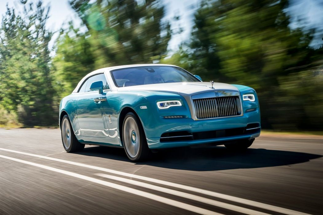 Rolls Royce Dawn convertible luxury cars 2015 wallpaper