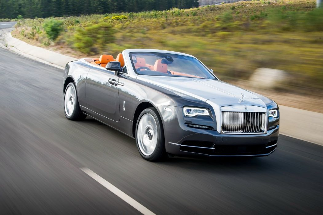 Rolls Royce Dawn convertible UK-spec luxury cars 2015 wallpaper