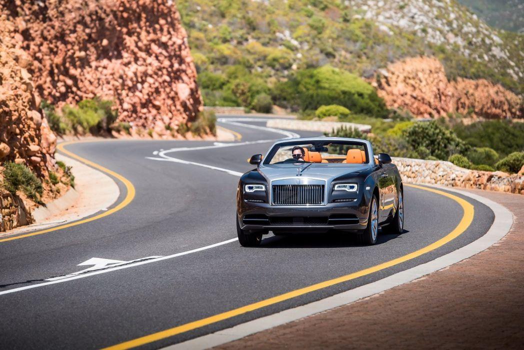Rolls Royce Dawn convertible UK-spec luxury cars 2015 wallpaper
