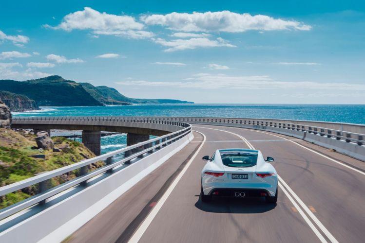 Jaguar F-Type Coupe AU-spec cars 2014 wallpaper