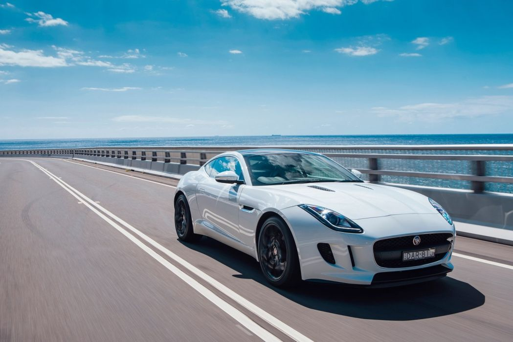Jaguar F-Type Coupe AU-spec cars 2014 wallpaper