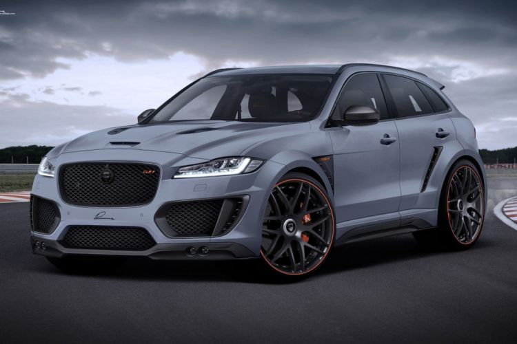 Jaguar F-PACE LUMMA Design cars modified wallpaper