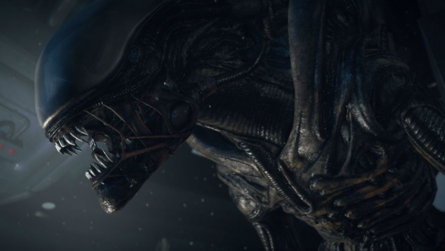 ALIEN futuristic creature sci-fi aliens horror dark science monster extra terrestrial wallpaper