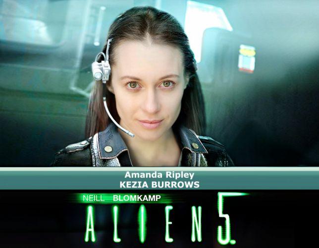 ALIEN futuristic creature sci-fi aliens horror dark science monster extra terrestrial wallpaper