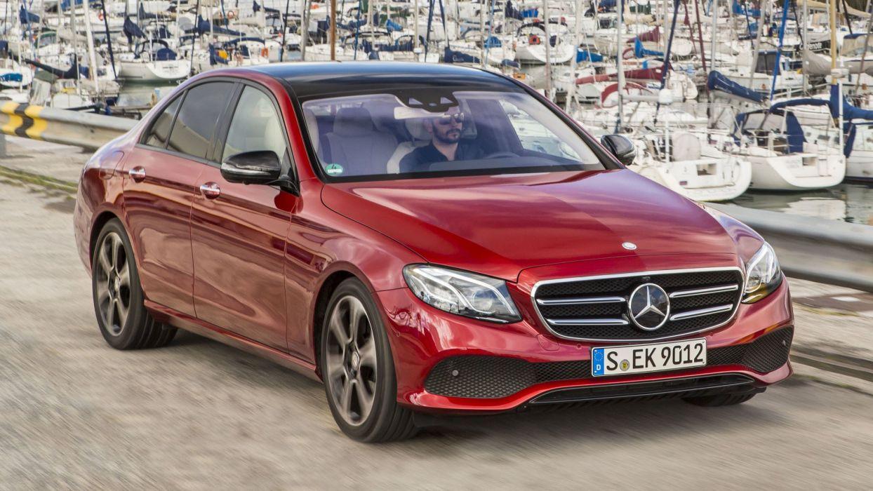 Mercedes Benz E-Class cars sedan 2016 wallpaper