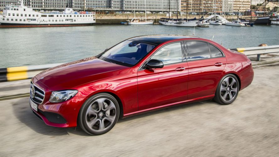 Mercedes Benz E-Class cars sedan 2016 wallpaper