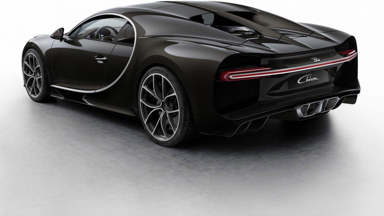 Bugatti Chiron cars supercars 2016 wallpaper