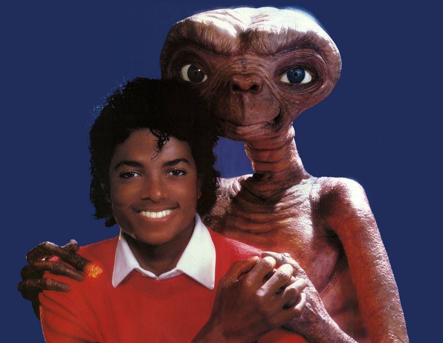 E T EXTRA TERRESTRIAL sci-fi alien aliens futuristic science pop michael jackson wallpaper