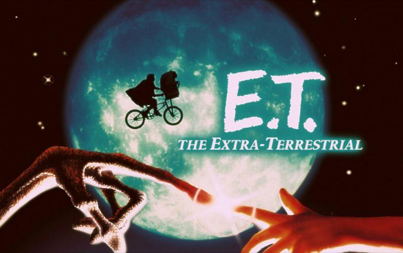 E T EXTRA TERRESTRIAL sci-fi alien aliens futuristic science poster wallpaper