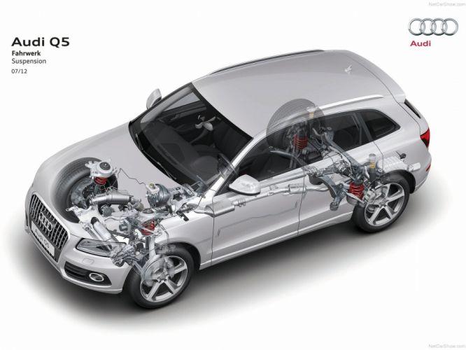 Audi Q5 cars cutaway wallpaper