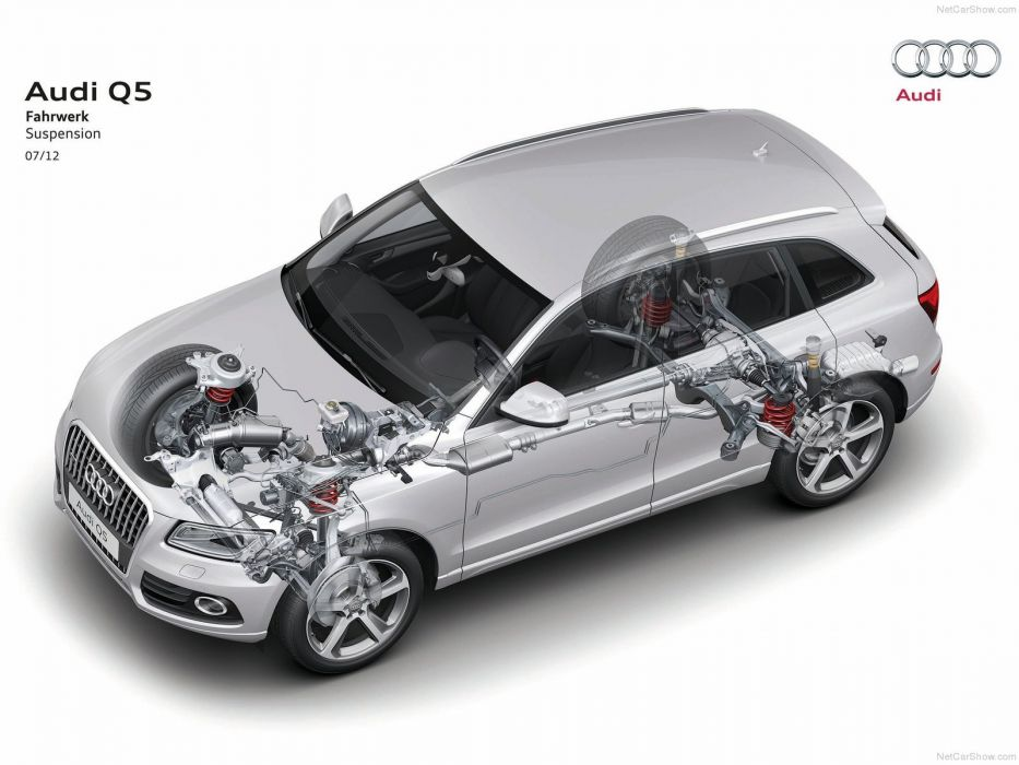 Audi Q5 cars cutaway wallpaper