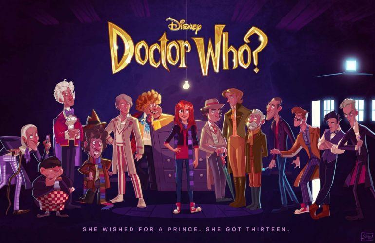 DOCTOR WHO bbc sci-fi futuristic series comedy adventure drama 1dwho poster disney wallpaper