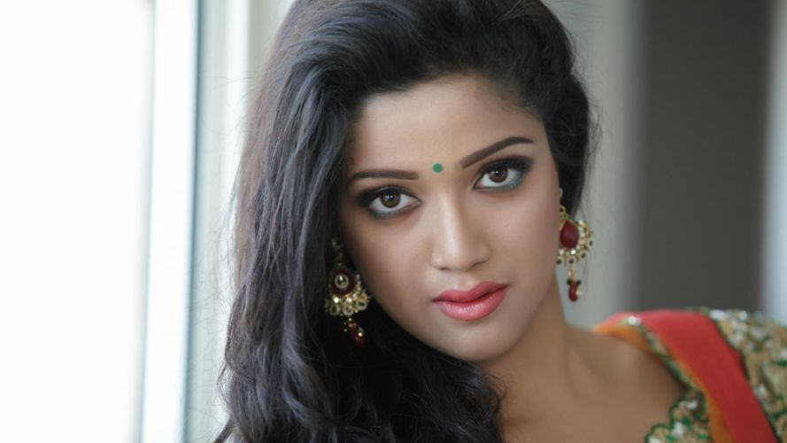 abhirami bollywood actress model girl beautiful brunette pretty cute beauty sexy hot pose face eyes hair lips smile figure indian wallpaper